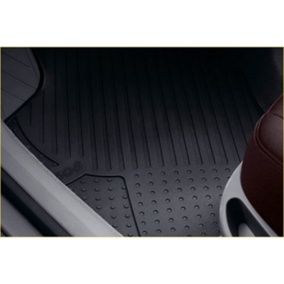 Set of rubber floor mats Peugeot 308, 308 SW