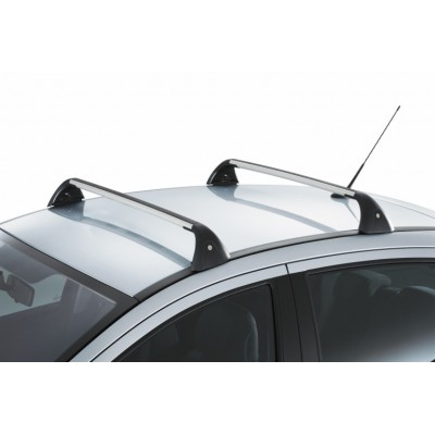 Set of 2 transverse roof bars Peugeot 207