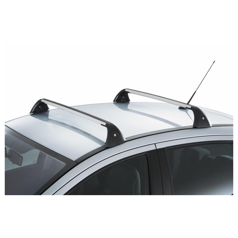 Juego de 2 barras de techo transversales Peugeot 207