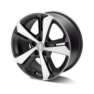 """Cerchio in lega Peugeot RUBIS 17"""" OPACO - 308 (T9), 308 SW (T9)"""