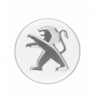 Satz von 4 abdeckkappen für leichtmetallfelge Peugeot - weiß BANQUISE