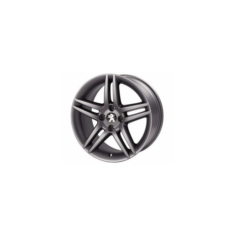 "Set of 4 alloy wheels Peugeot DARK STROMBOLI 17"" - 308"