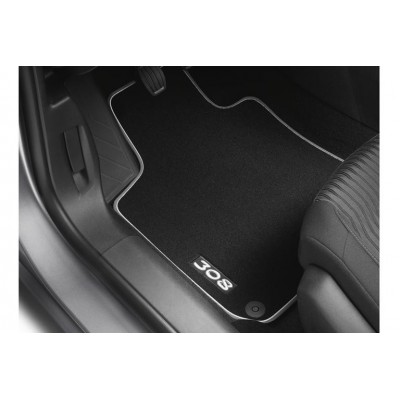 Set of velour floor mats Peugeot 308 (T9)