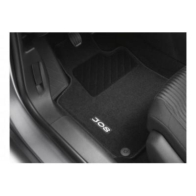 Satz bodenmatten aus nadelflies-qualität Peugeot 308 (T9)