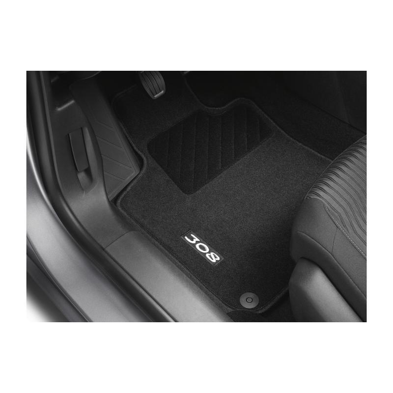 Serie di tappetini in moquette agugliata Peugeot - Nuova 308 (T9)