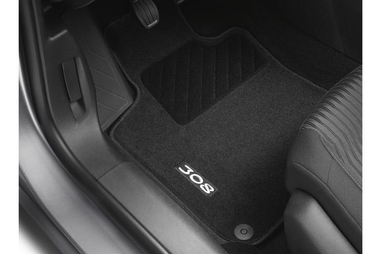 Set of needle-pile floor mats Peugeot 308 SW (T9) | Eshop-Peugeot.cz