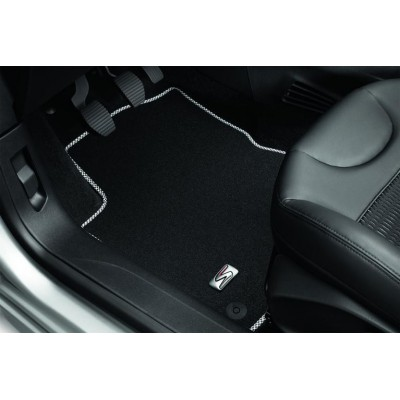 "Set of velour floor mats ""LIGNE S"" Peugeot 308 (T9)"