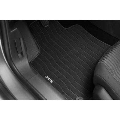 Serie di tappetini in velluto Peugeot 308 (T9)