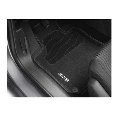 Satz bodenmatten geformt Peugeot 308 (T9)