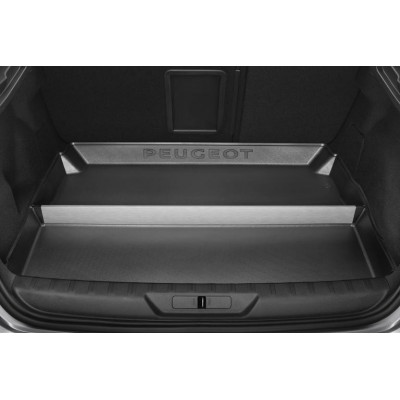 Luggage compartment tray compartmented Peugeot 308 (T9)