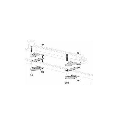 Kit de fijación para portaesquís (barras de techo de acero)