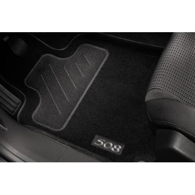 Satz bodenmatten geformt Peugeot 508, 508 SW