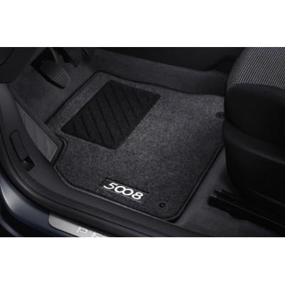 Satz bodenmatten aus nadelflies-qualität Peugeot 5008