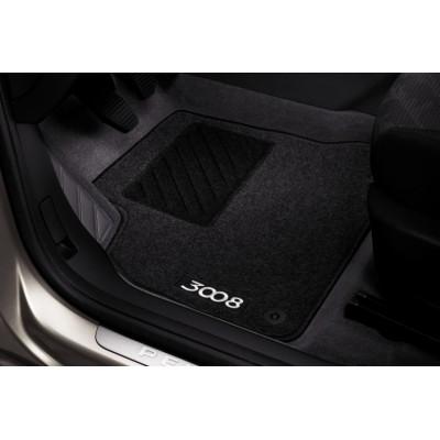 Serie di tappetini in moquette agugliata Peugeot 3008
