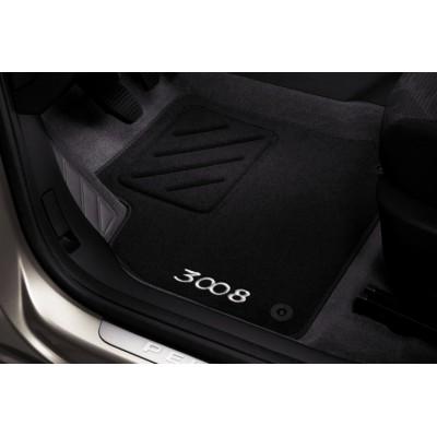 Set of velour floor mats Peugeot 3008