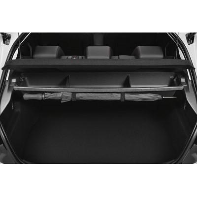 Stauraum unter ablagefach kofferaumteiler Peugeot 208