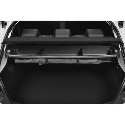 Under-shelf storage compartmented Peugeot 208