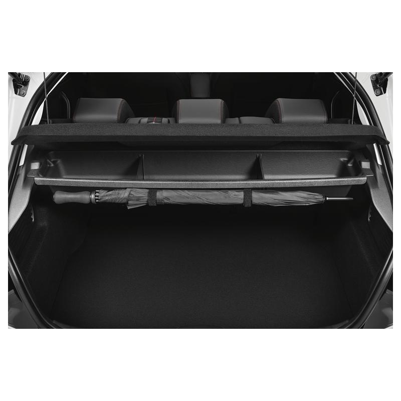 Úložná schránka pod krytom batožinového priestoru Peugeot 208