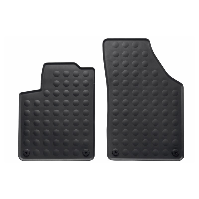 Set of rubber floor mats front Peugeot RCZ