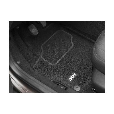 "Prešívané koberce ""3D"" Peugeot - 301"