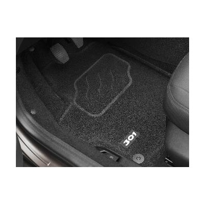 "Set of needleloom floor mats ""3D"" Peugeot 301"