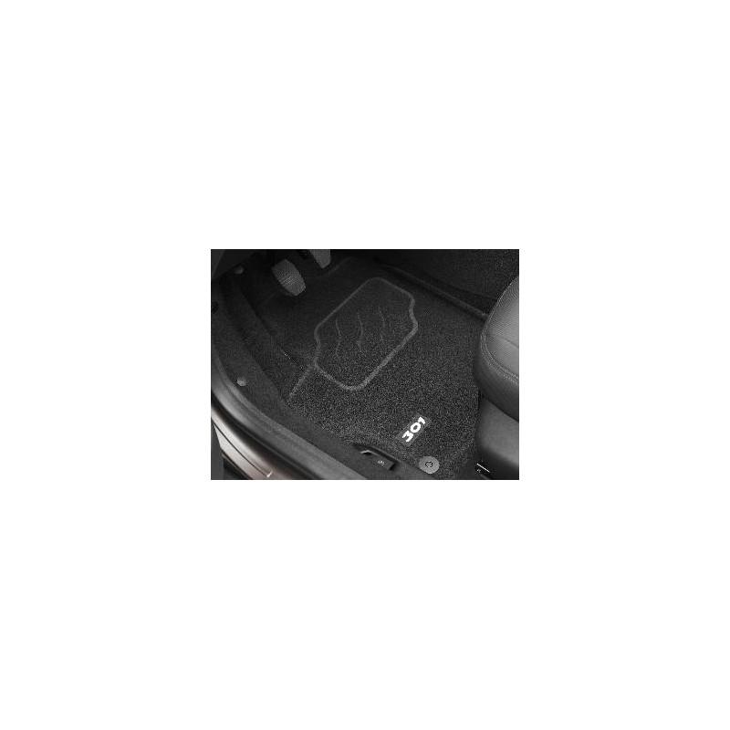 """Juego de alfombrillas de moqueta punzonada """"3D"""" Peugeot 301"""