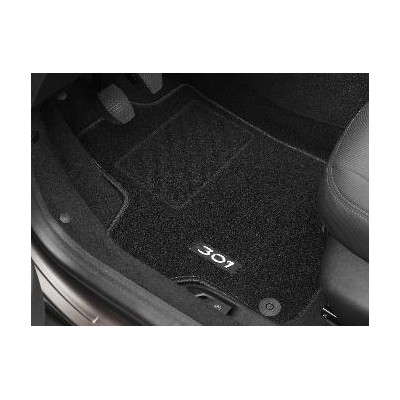 Satz bodenmatten aus nadelflies-qualität Peugeot 301