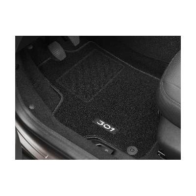 Serie di tappetini in moquette agugliata Peugeot 301