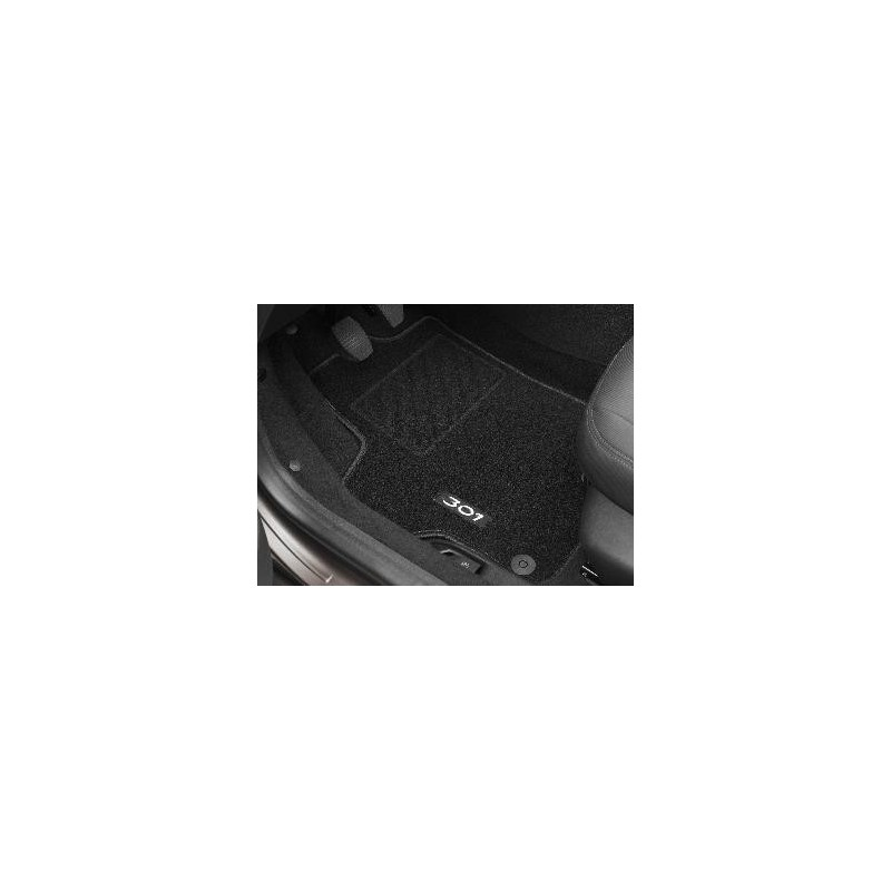 Juego de alfombrillas de moqueta acordonada Peugeot 301