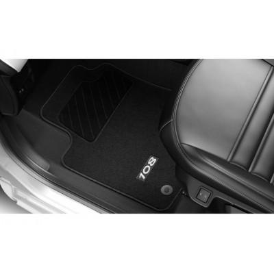 Serie di tappetini in moquette agugliata Peugeot 108