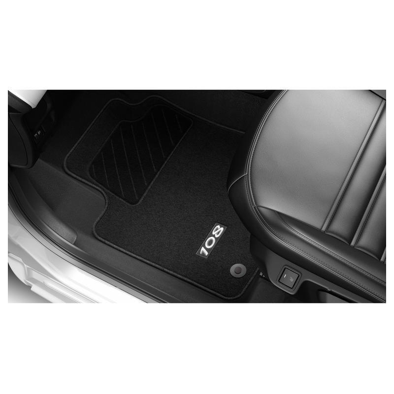 Juego de alfombrillas de moqueta acordonada Peugeot 108