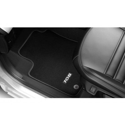 Serie di tappetini in velluto Peugeot 108