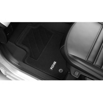 Satz bodenmatten geformt Peugeot 108