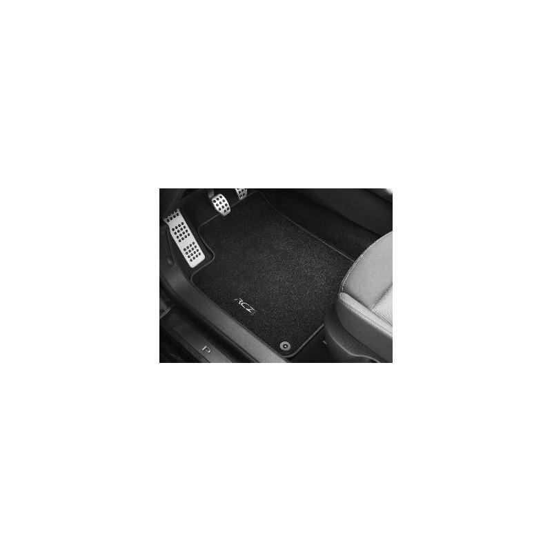"Serie di tappetini in velluto anteriori ""PREMIUM"" Peugeot RCZ"
