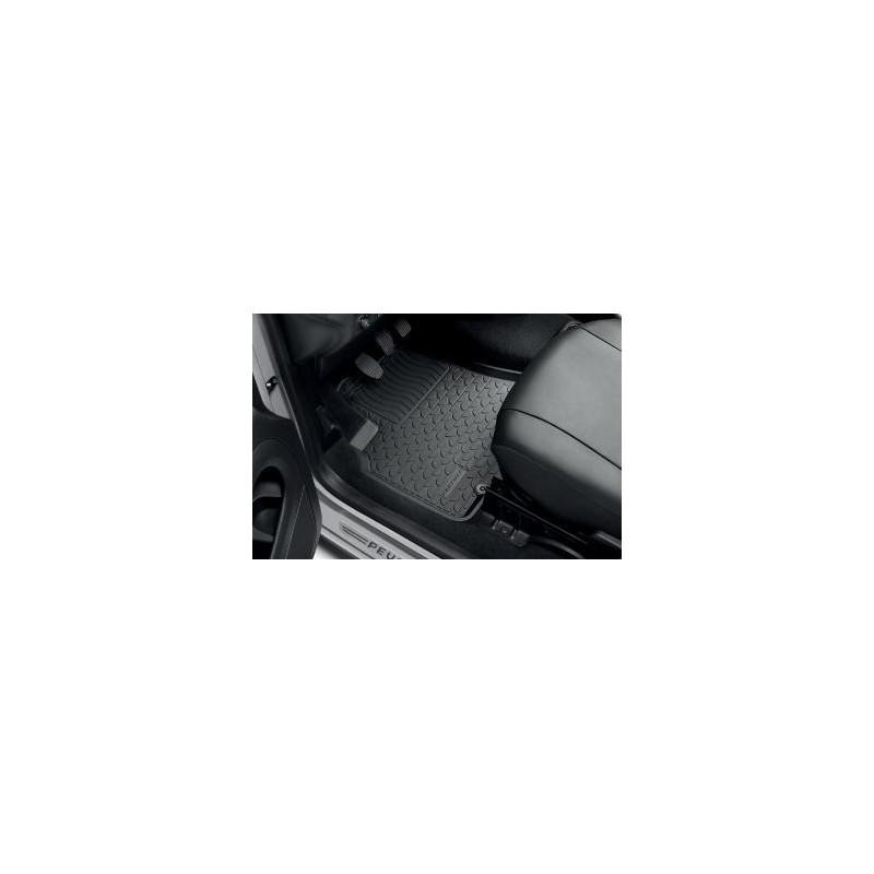 Serie di tappetini in gomma Peugeot Partner Tepee