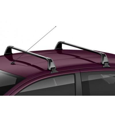 Juego de 2 barras de techo transversales Peugeot 108 5 Puertas, Citroën C1 (B4) 5 Puertas