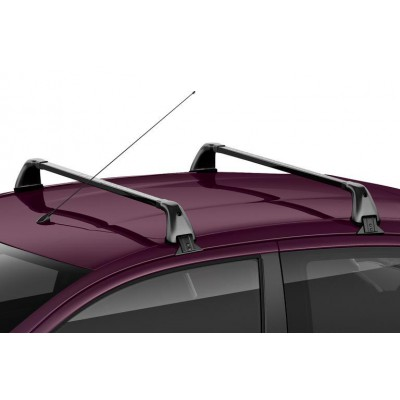 Set of 2 transverse roof bars Peugeot 108 5 Door, Citroën C1 (B4) 5 Door