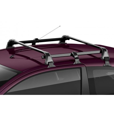 Set of 2 transverse roof bars Peugeot 108 3 Door, Citroën C1 (B4) 3 Door