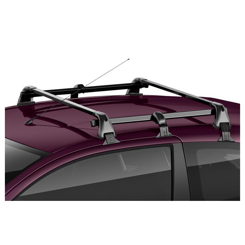 Set of 2 transverse roof bars Peugeot 108 3 Door, Citroën C1 (B4) 3 Door