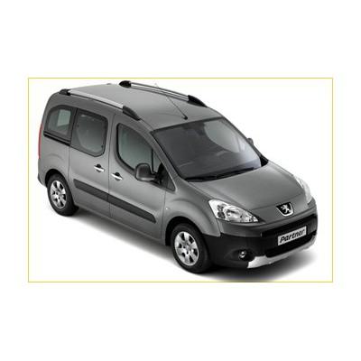 Serie di 2 barre del tetto longitudinali Peugeot Partner (Tepee) B9, Citroën Berlingo (Multispace) B9