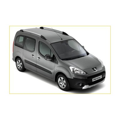 Set of 2 longitudinal roof bars Peugeot Partner (Tepee) B9, Citroën Berlingo (Multispace) B9