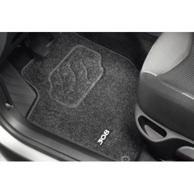 Satz bodenmatten aus nadelflies-qualität Peugeot 308, 308 SW