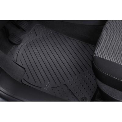 Satz geformte gummimatten vorne Peugeot 207, 207 SW, 207 CC