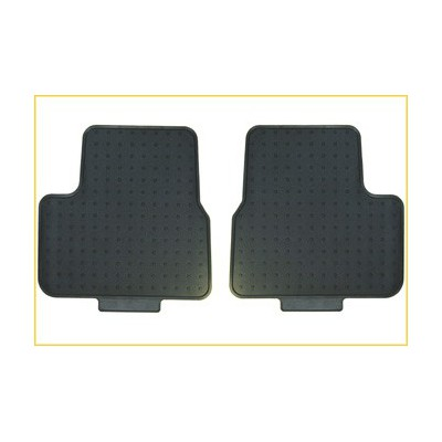 Set of rubber floor mats rear Peugeot 207, 207 SW