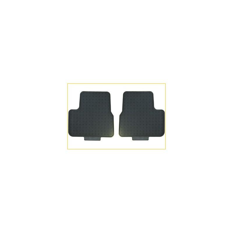 Satz geformte gummimatten hinten Peugeot 207, 207 SW