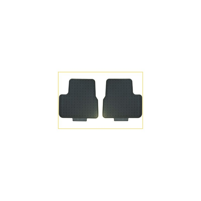 Sada zadních gumových koberců - 207