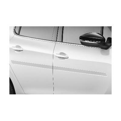 Juego de molduras de protección para puertas delanteras y traseras Peugeot, Citroën