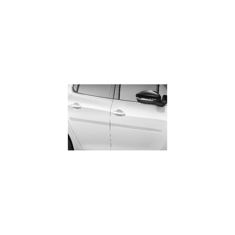 Juego de molduras de protección para puertas delanteras y traseras Peugeot