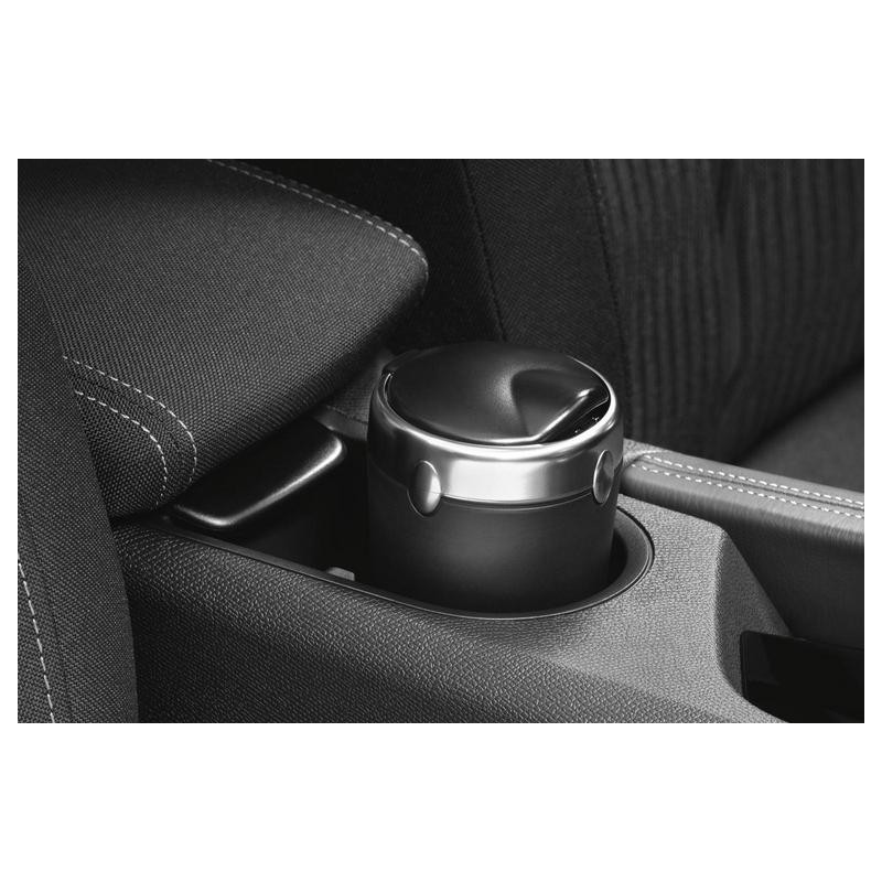 Ash tray with brushed aluminium ring Peugeot, Citroën