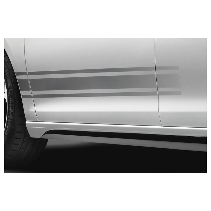 Set of lateral stickers double stripe LIGNE S Peugeot - 308 (T9), 308 SW (T9)